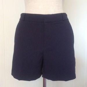 Navy Dressy Shorts